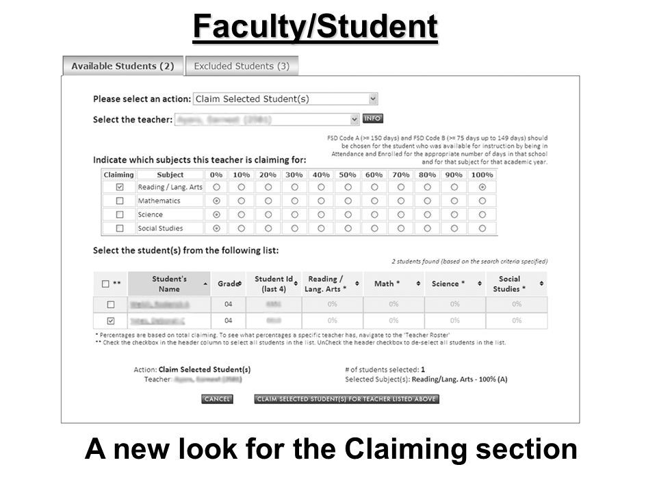 Faculty/Student