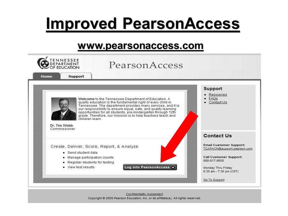 www.pearsonaccess.com