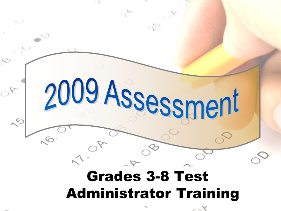 12 Secure Testing Environment Ensure students respond to test without assistance from anyone.