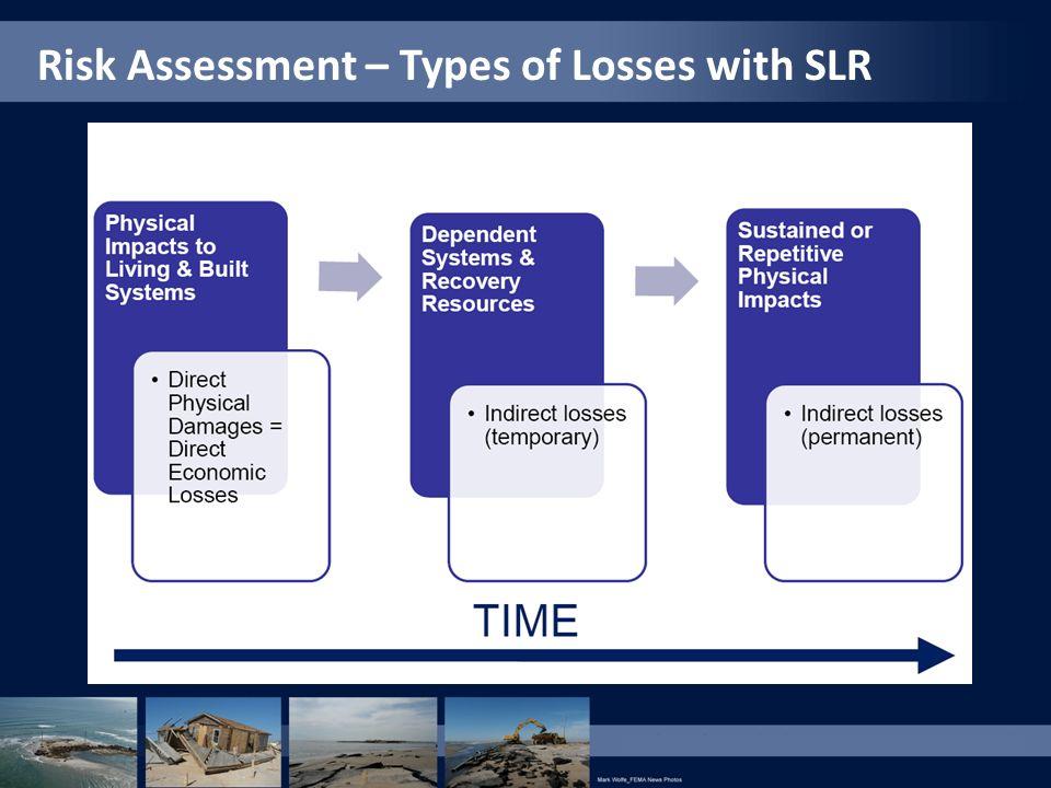 Risk Assessment – Types of Losses with SLR