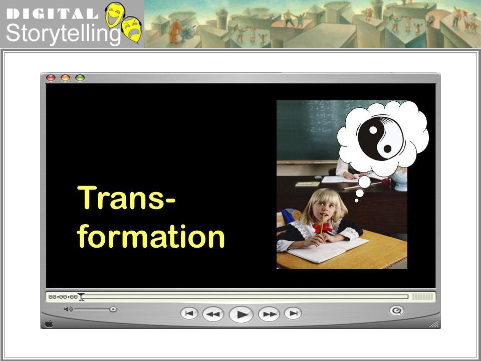 Digital Storytelling Trans- formation