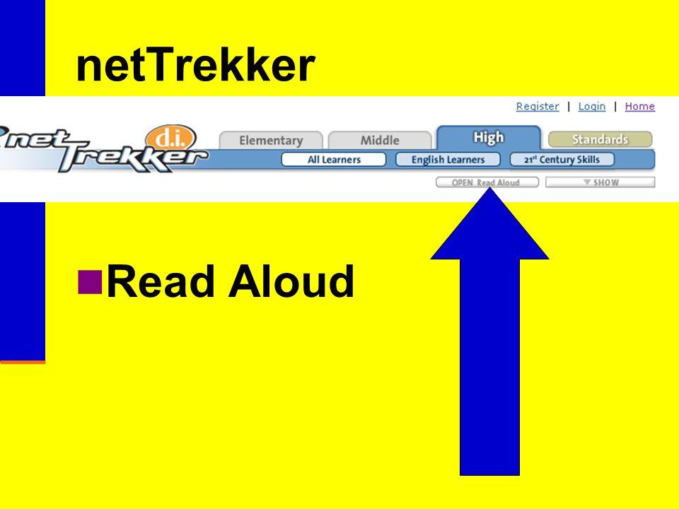 netTrekker Read Aloud