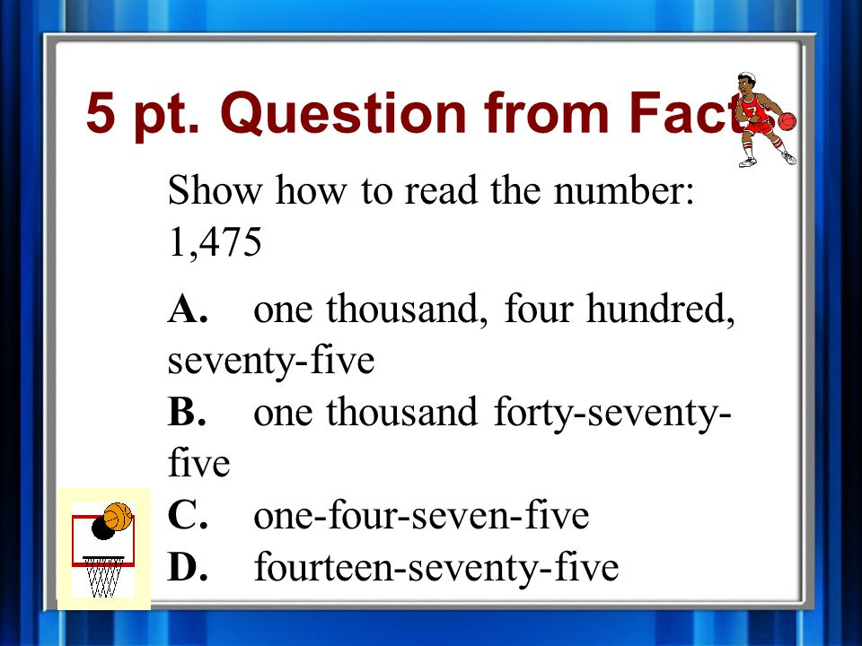 4 pt. Answer from Facts B.seven hundred twenty-two