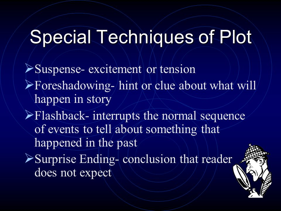Diagram of Plot Inciting incident/ Opening situation Introduction Development/ Rising Action Climax Resolution Denouement
