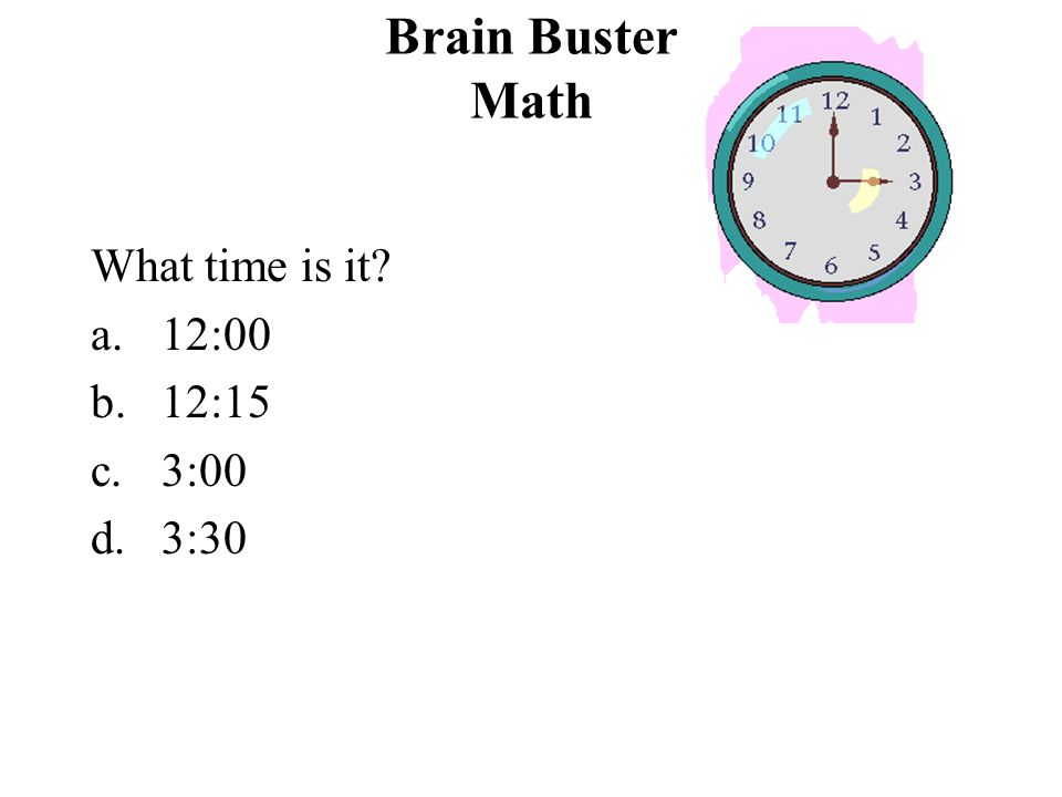 Brain Buster Math Complete the sequence. 33, 37, 41, ______, 49, 53 a.44 b.45 c.48 d.52