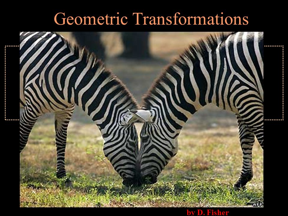 by D. Fisher Geometric Transformations