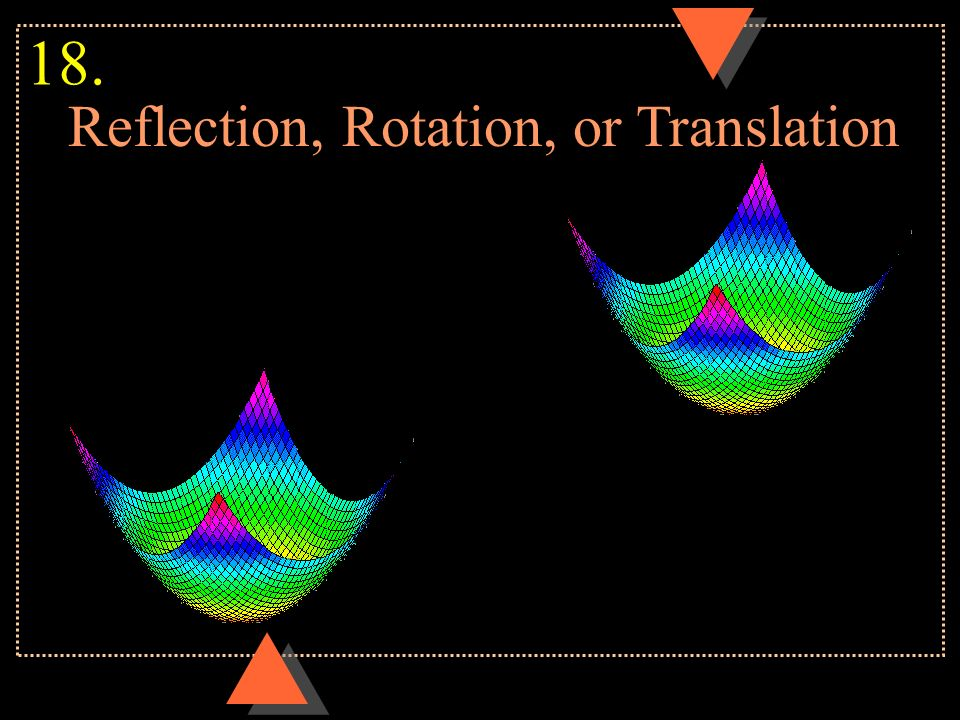 Reflection, Rotation, or Translation 18.