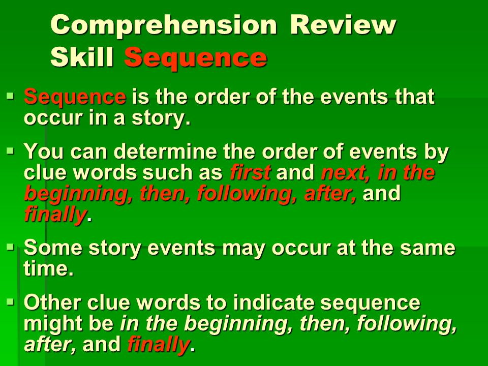 Comprehension Skill Authors Purpose is the authors reason or reasons for writing this story. Authors Purpose is the authors reason or reasons for writ