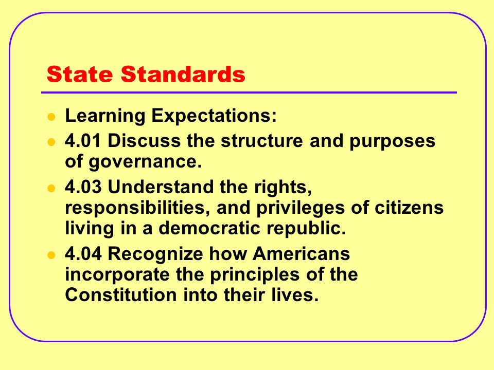 Extended Activities: 5.4.tpi.9.create a proposal and trace the steps of making it into law.