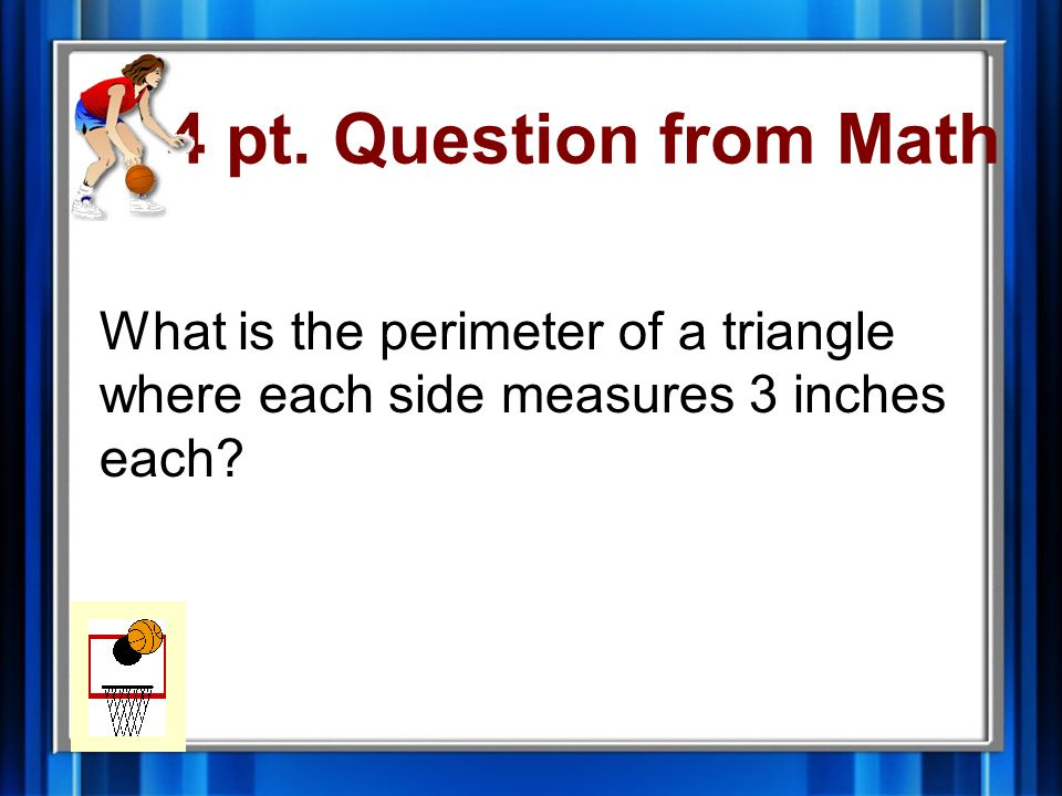 3 pt. Answer from Math 25