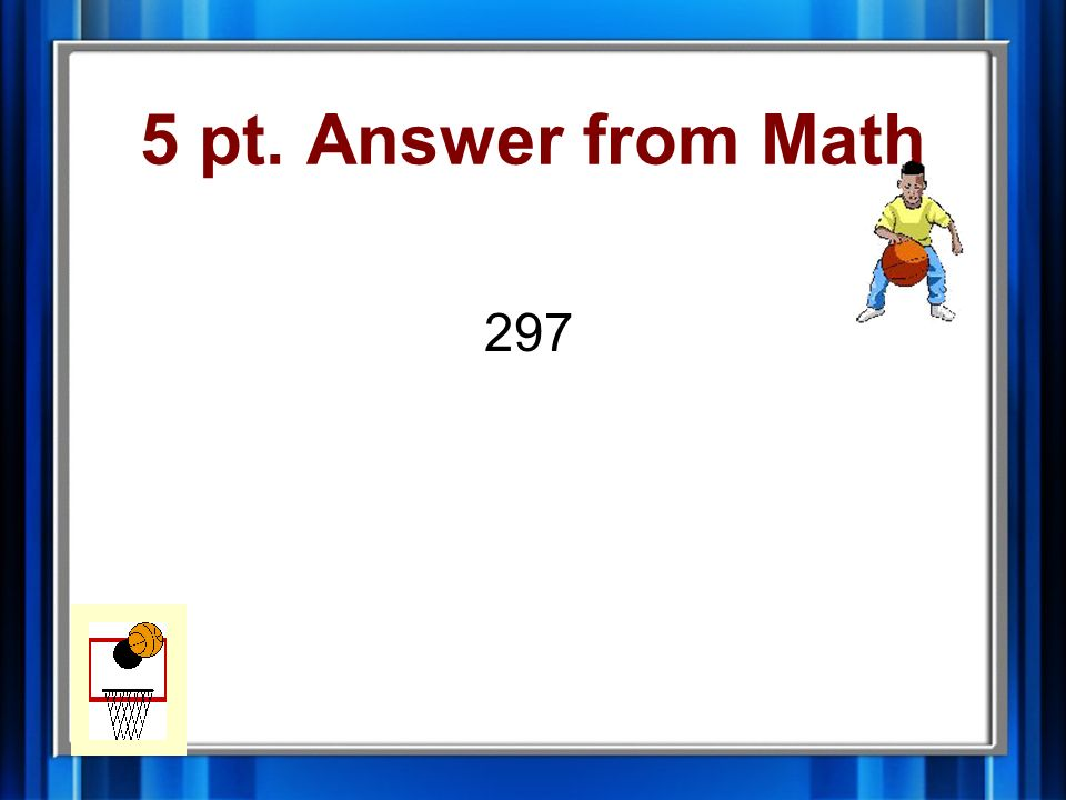 5 pt. Question from Math If N 3 = 99, then N is ______.