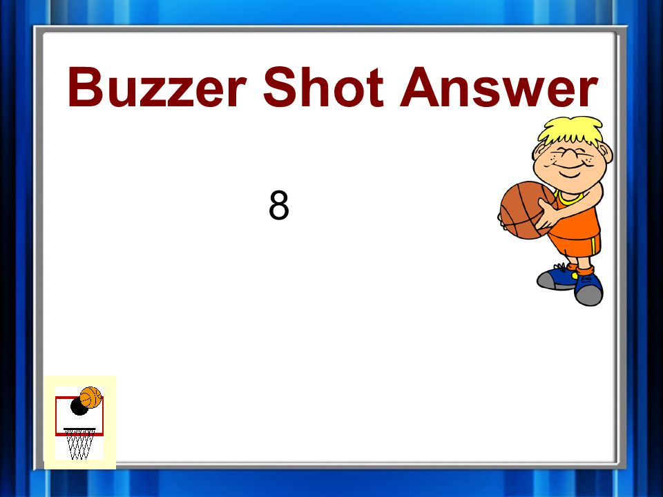 Buzzer Shot What is the average of the following numbers? 7,6,4,25,14,7,0,1