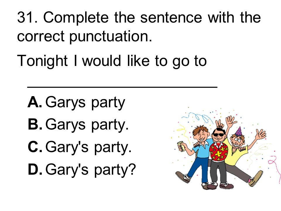 30. Which part of the sentence has a capitalization error.