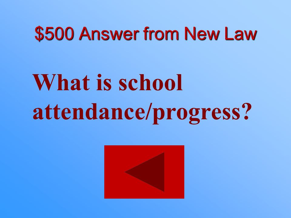 $500 statement from New Law Applicants under the age of 18 must have proof of this.
