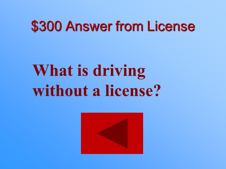 $300 statement from License This is a class B misdemeanor with a $500 fine and/or 6 months in jail.