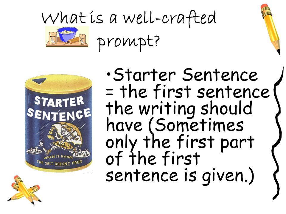 What is a well-crafted prompt.