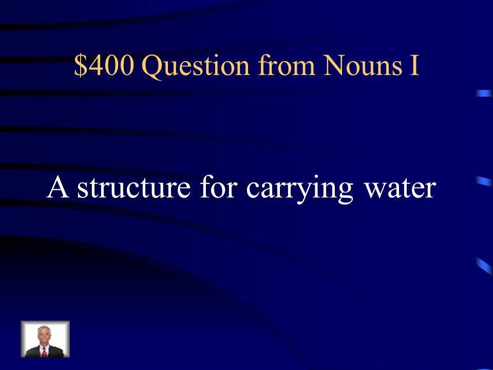 $300 Answer from Nouns I What is apothecary