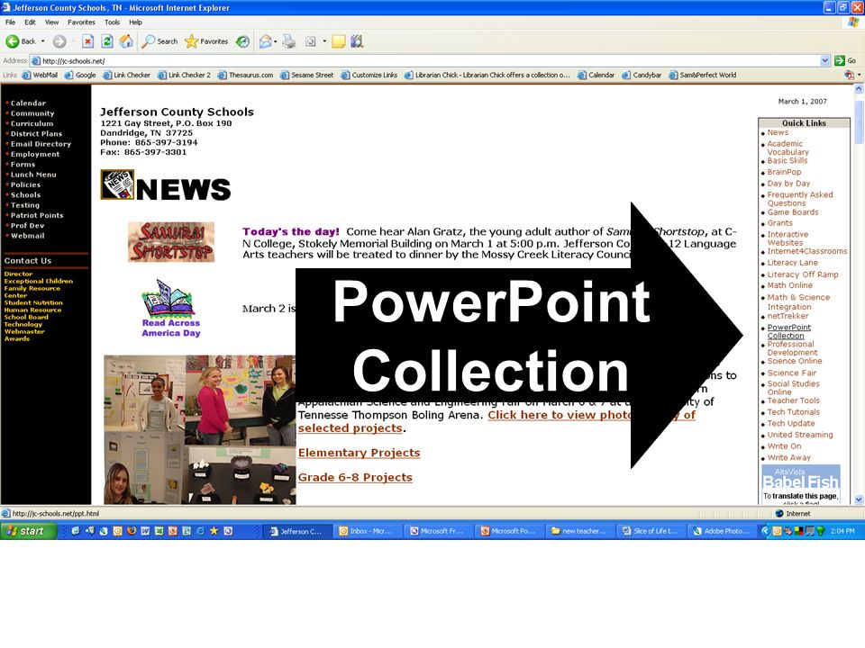 PowerPoint Collection