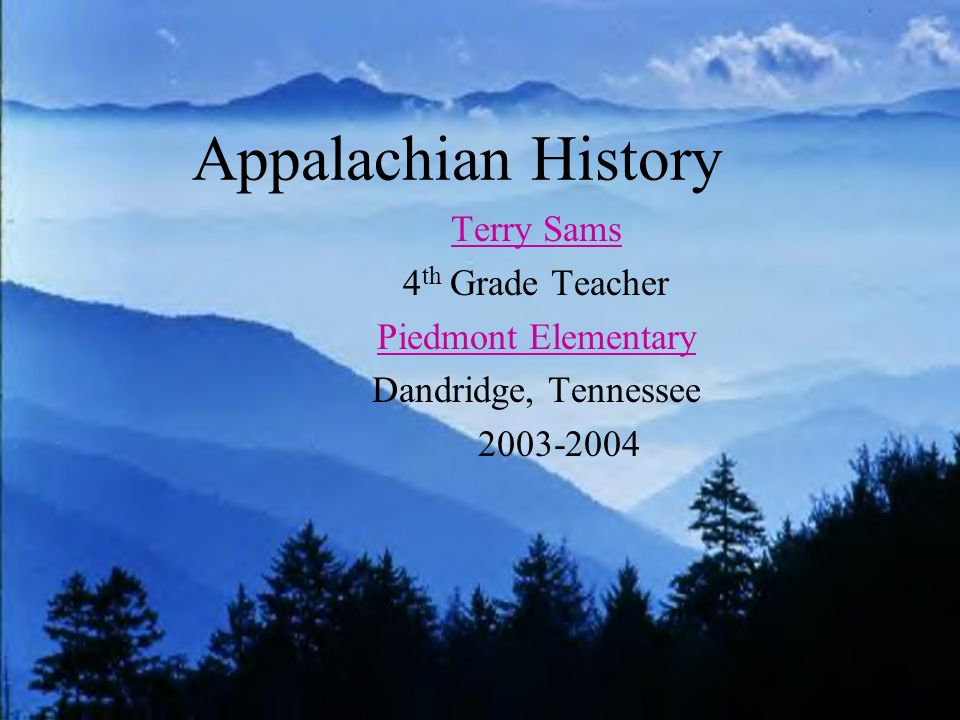 One room schools served students in rural Appalachia from 1916 to 1956.