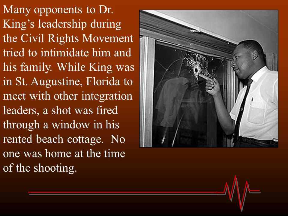 Dr. King made his famous I have a dream speech.