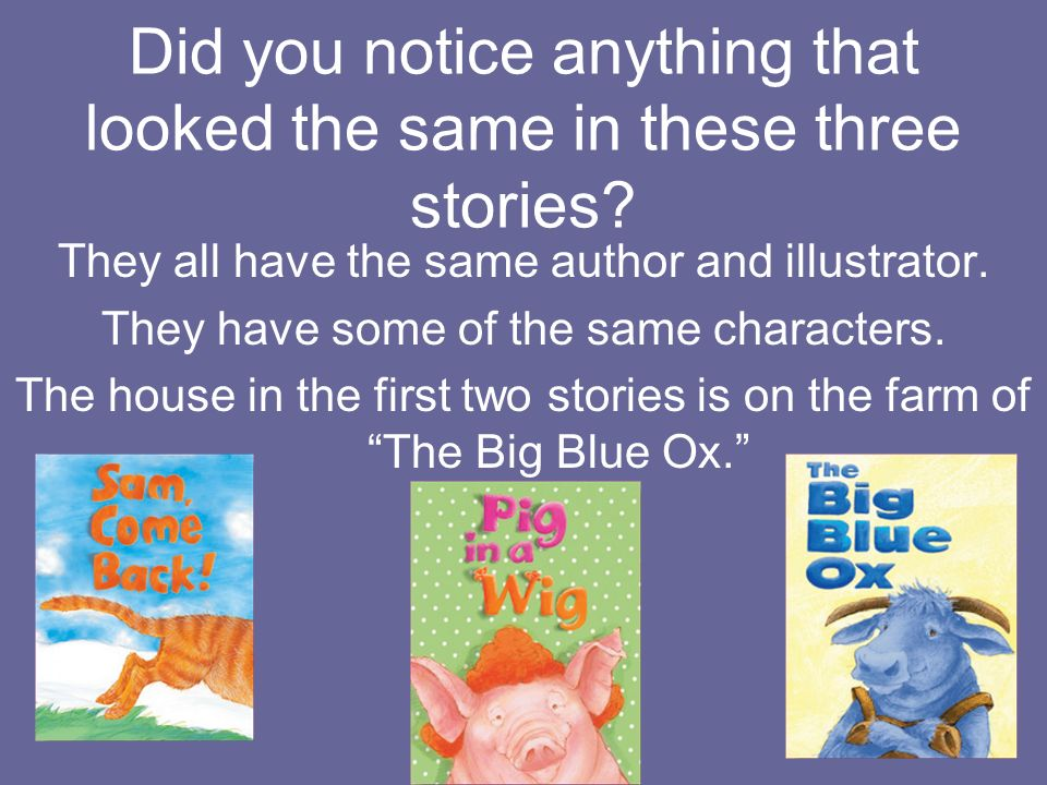 What is the setting of The Big Blue Ox. The setting is a farm in the country.
