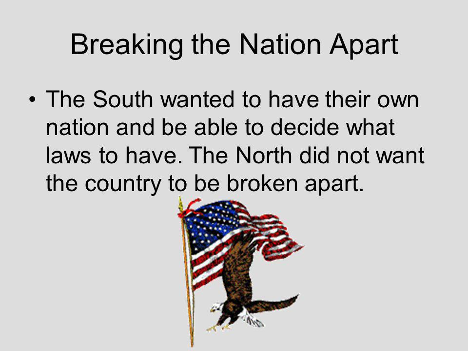 The Issue of States Rights Southern opinion held that all the territories had the right to sanction slavery.