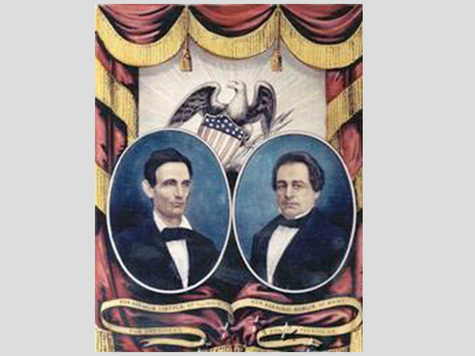 Lincoln Wins Lincoln won only 39 percent of the popular vote, but had a clear majority of 180 electoral votes, carrying all 18 free states.