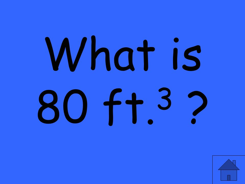 What is 80 ft. 3