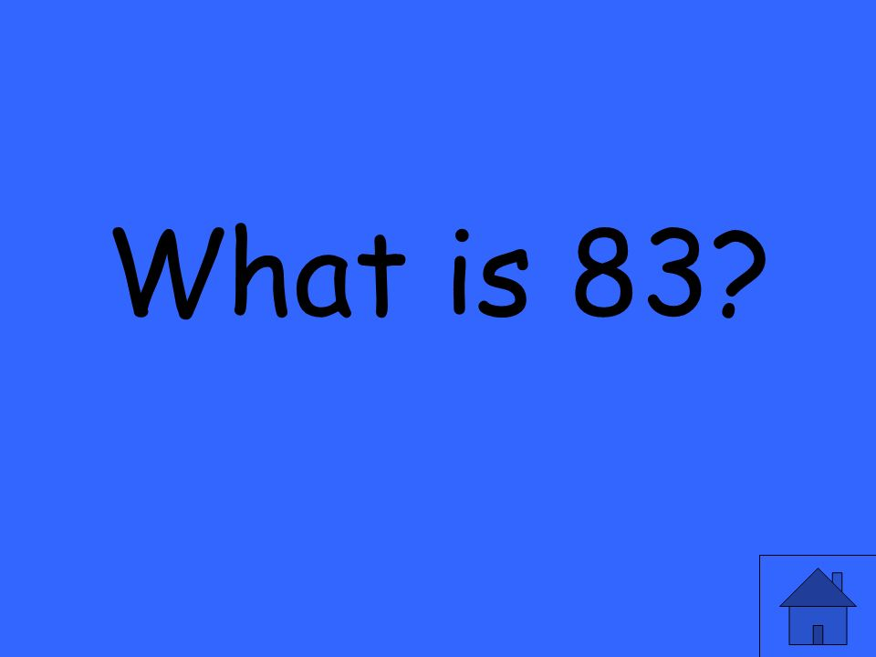What is 83