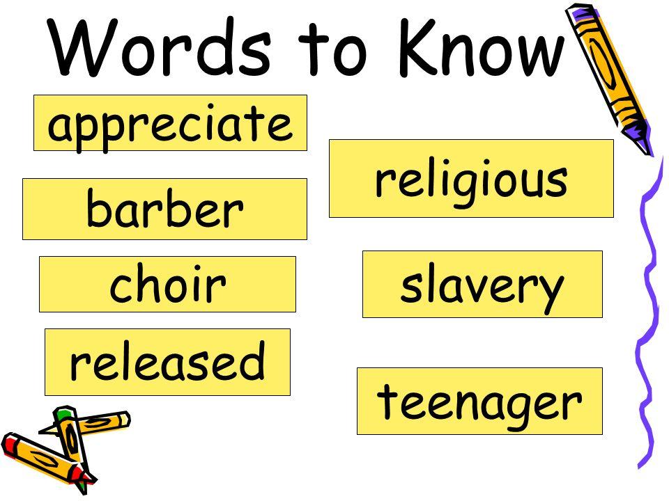 Mahalia Jackson Vocabulary Fifth Grade Unit 3 Week 4
