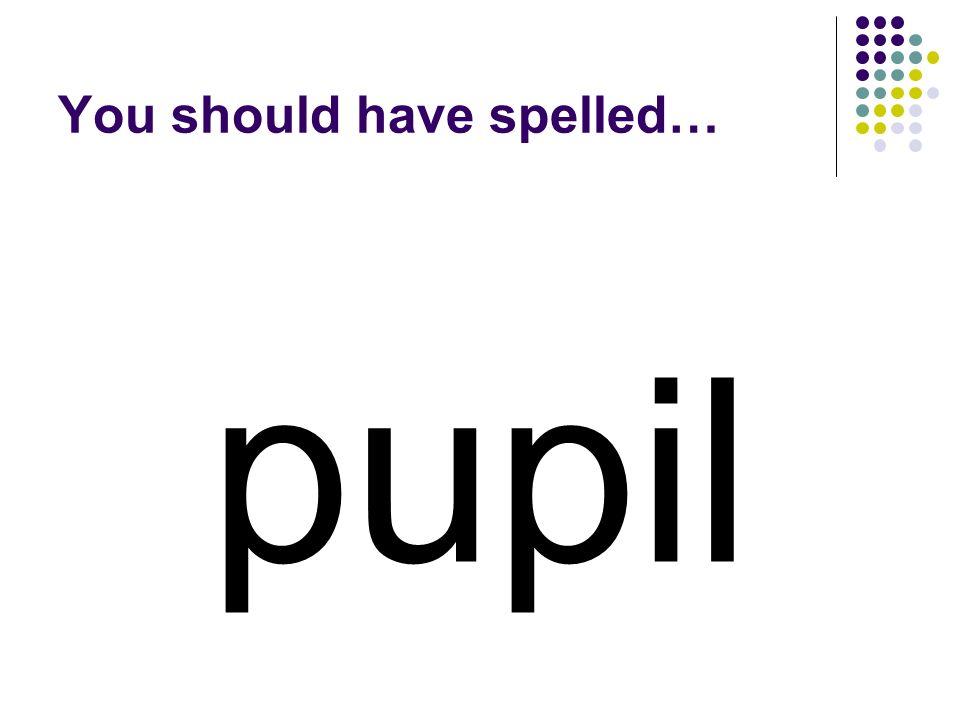 lent You should have spelled…