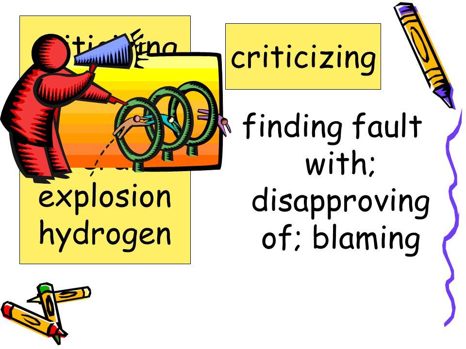 wetting thoroughly; soaking drenching criticizing cruised drenching era explosion hydrogen