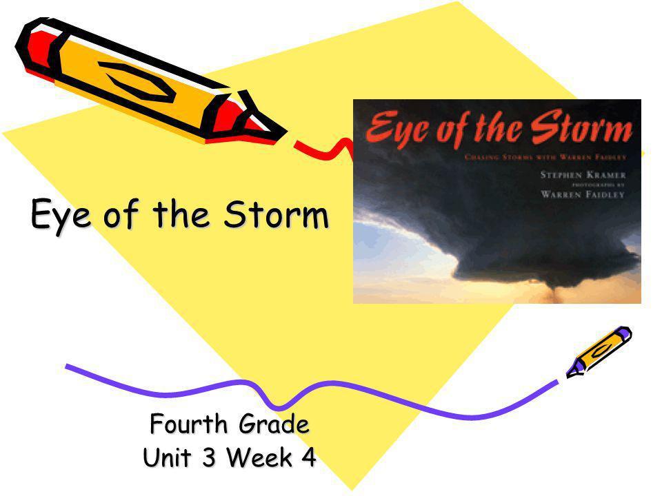 Fourth Grade Unit 3 Week 4 Eye of the Storm