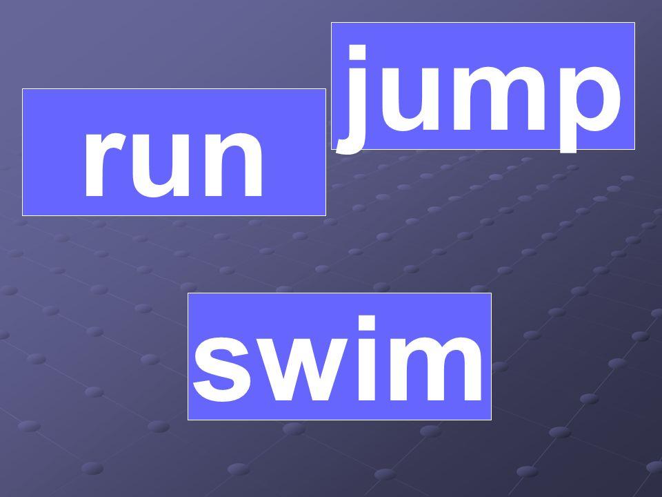 run jump swim