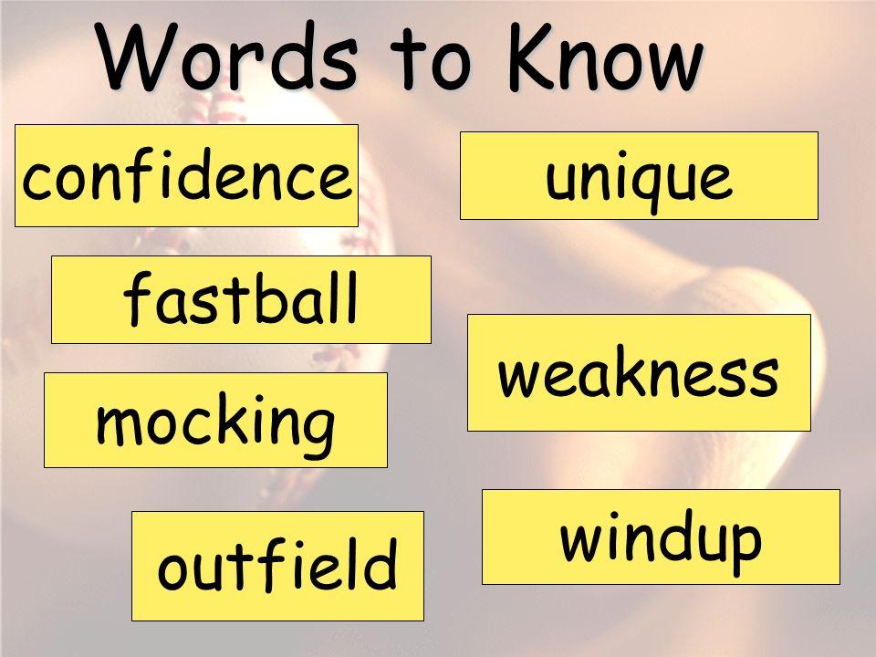 Satchel Paige Vocabulary Words Fifth Grade Unit 1 Week 4