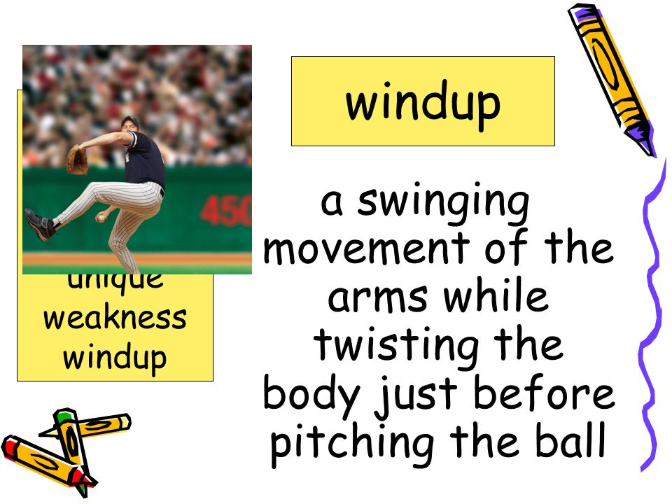 laughing at; making fun of mocking confidence fastball, mocking outfield unique weakness windup