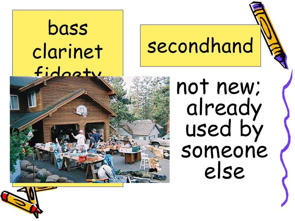 time between evening and morning nighttime bass clarinet fidgety forgetful jammed nighttime secondhand