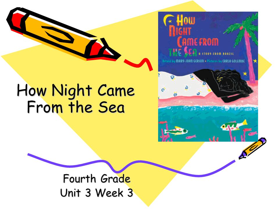 Fourth Grade Unit 3 Week 3 How Night Came From the Sea