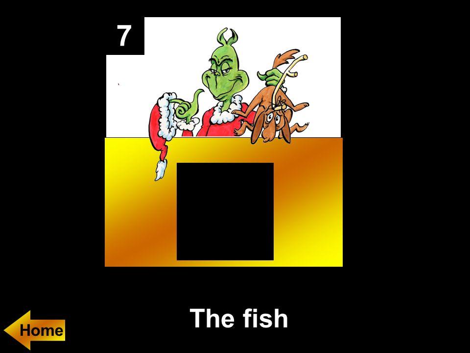7 The fish