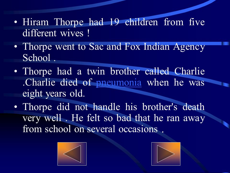 Hiram Thorpe had 19 children from five different wives .