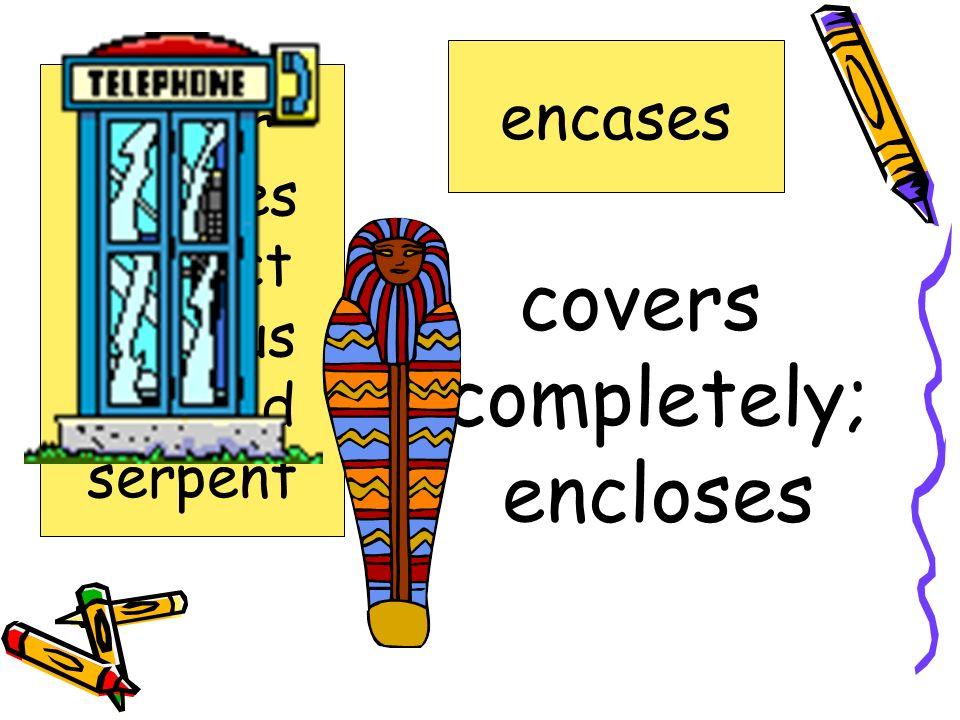 no longer existing extinct armor encases extinct hideous plunged serpent