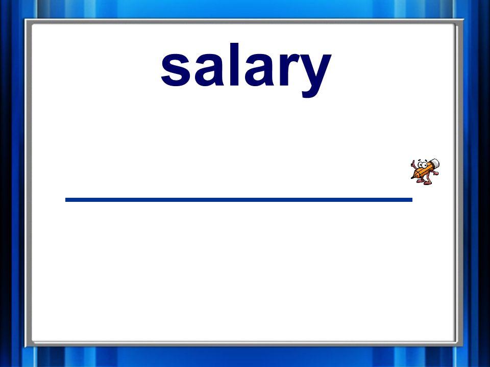2. salary salary