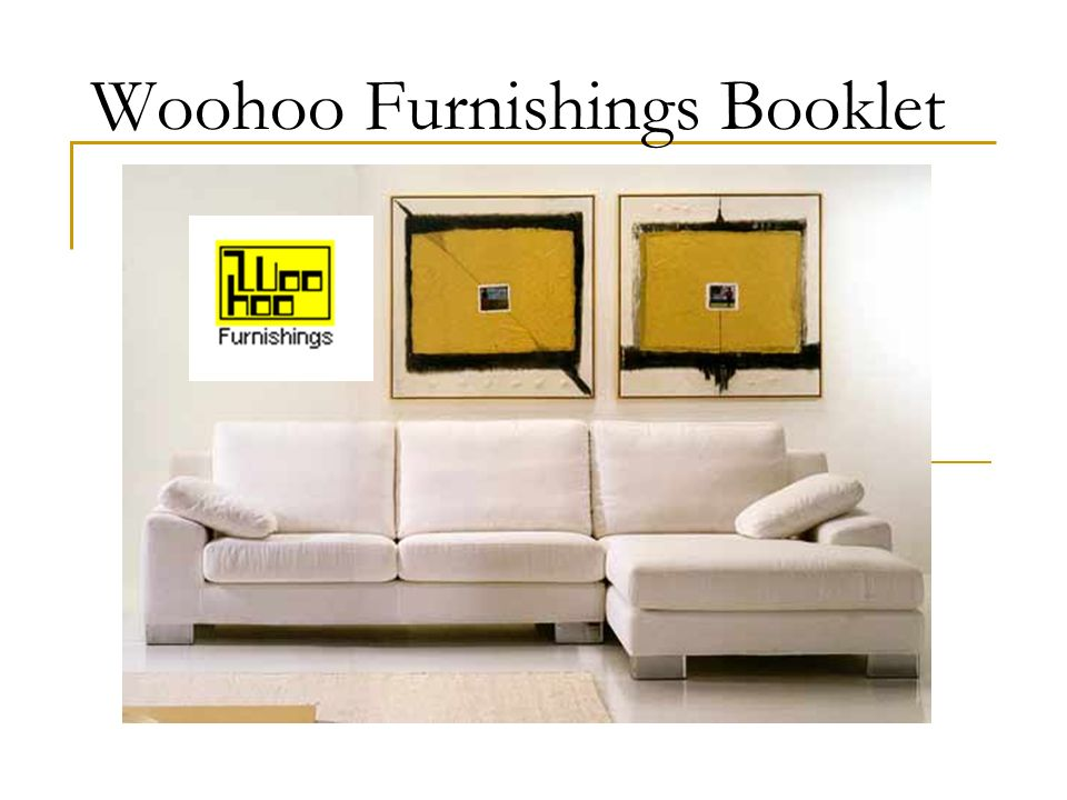 Woohoo Furnishings Booklet
