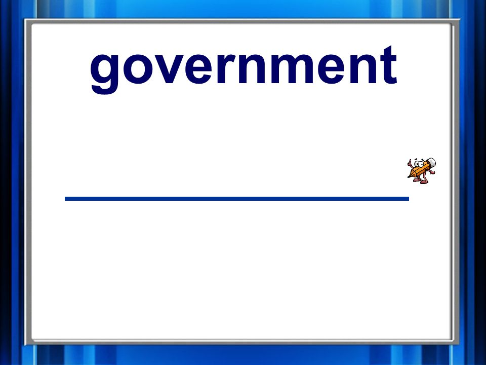 10. government government