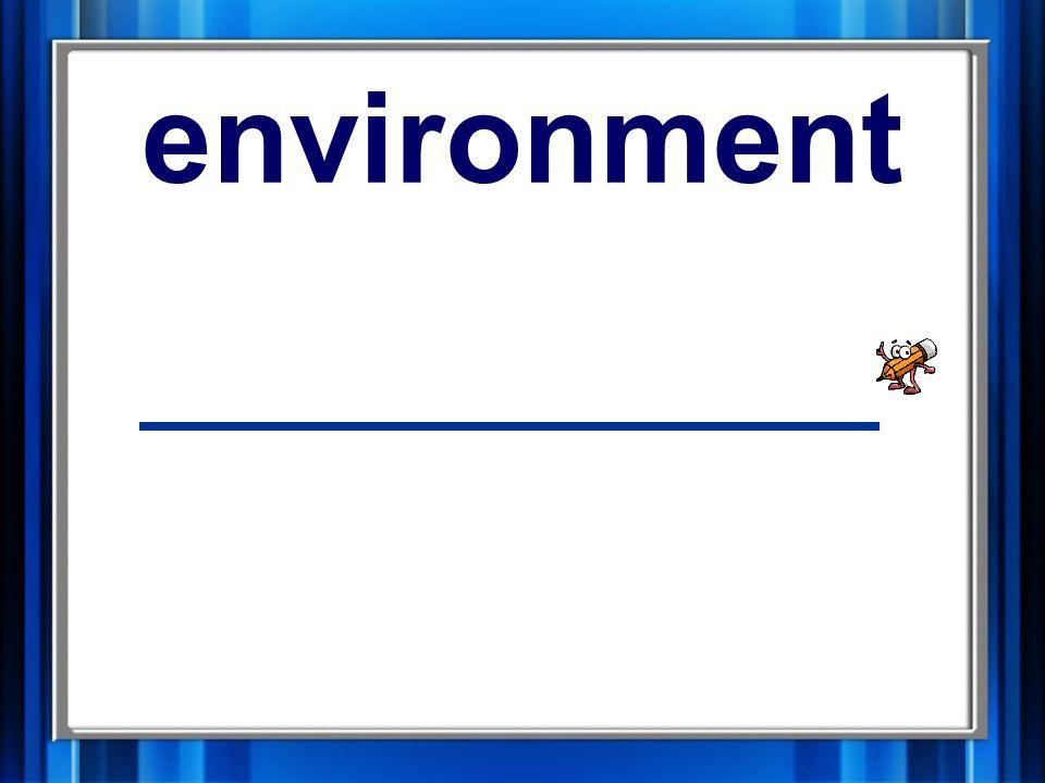 3. environment environment