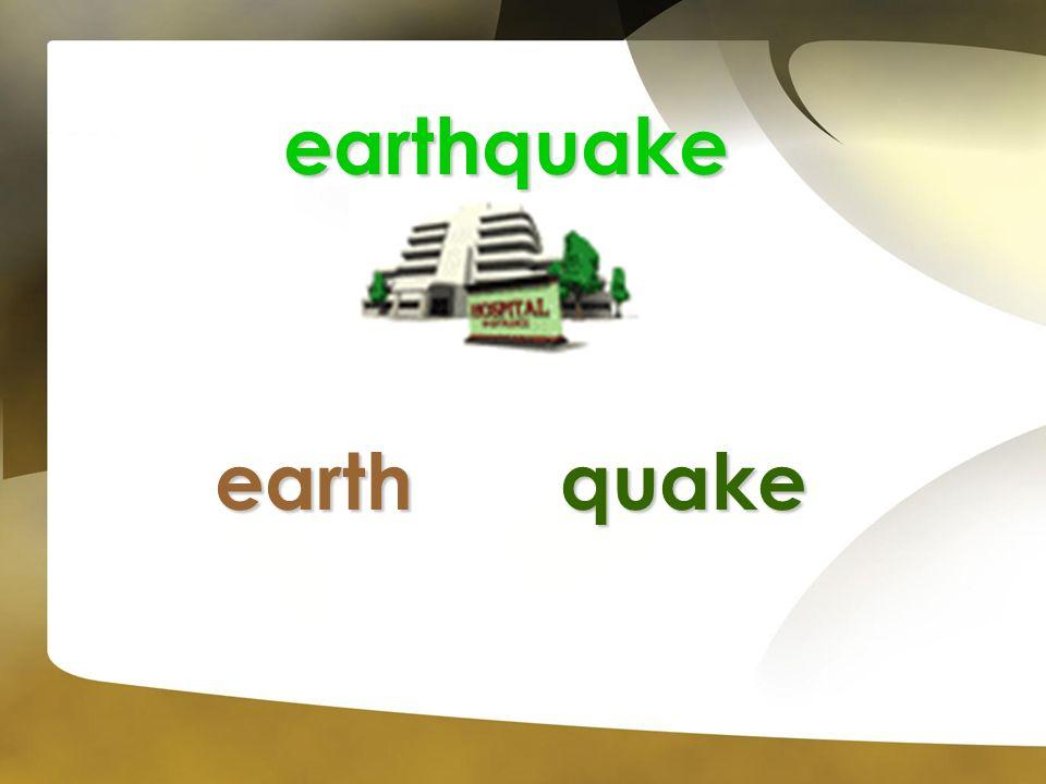 earthquake earthquake