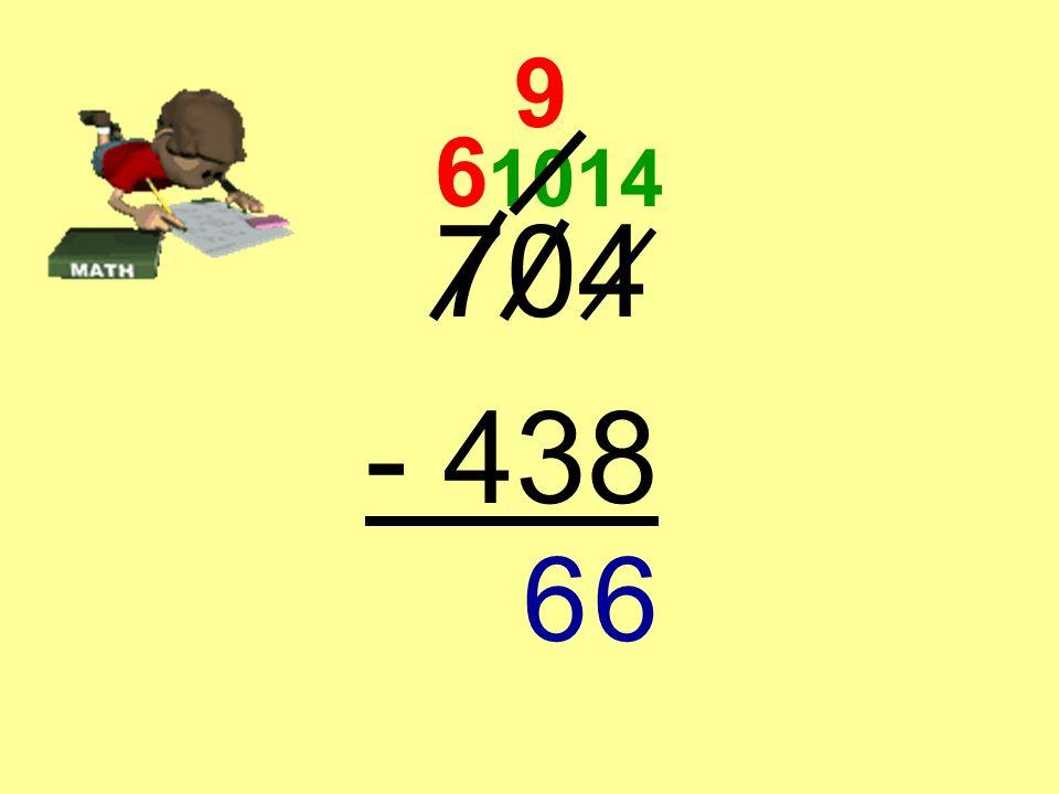 704 - 438 6 10 9 14 6
