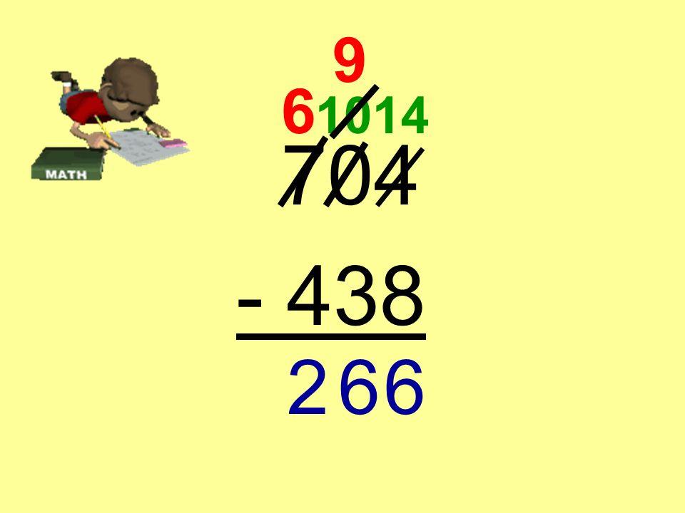 704 - 438 6 10 9 14 66