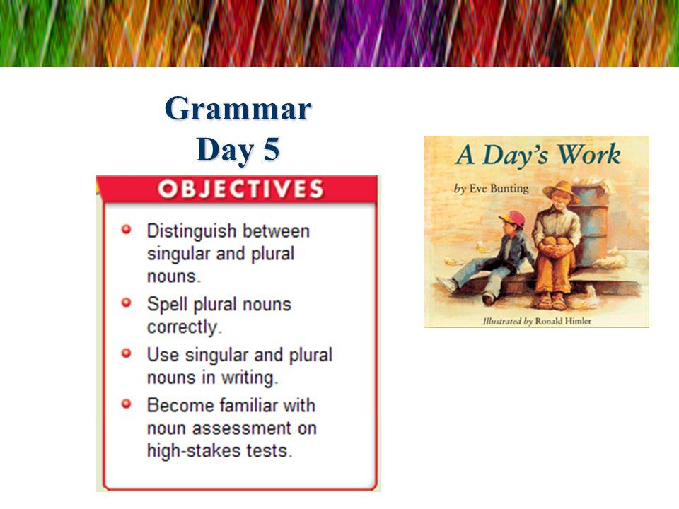 Grammar Day 5