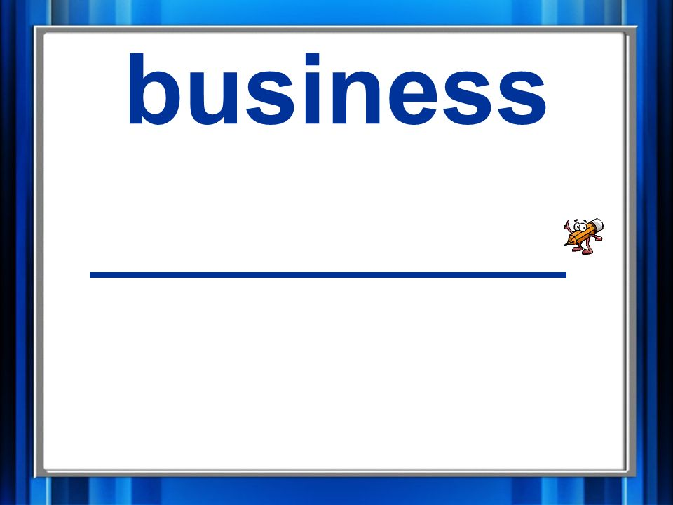 9. business business